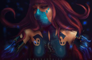 Spirit Reassembly. by hybridgothica