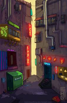 Hack Alley.
