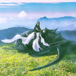 Dragon Fu. by hybridgothica