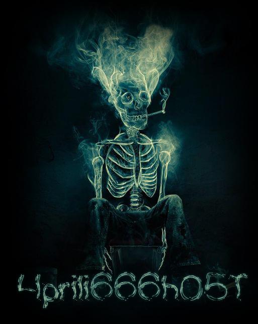 Skull Aprilighost Bg Deface by 4prili666h05T