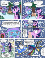 MLP Comic 37: Hearth's Warming Eve with a Friend by Average-00