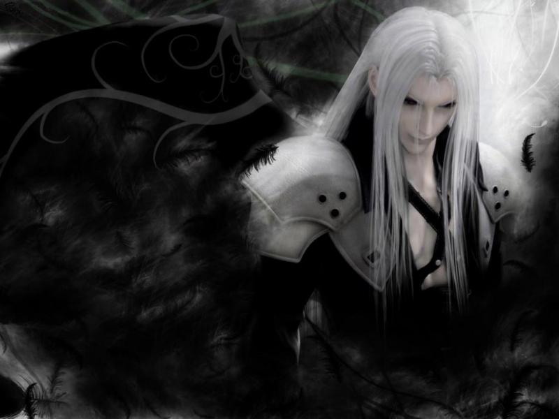 sephiroth-black wing by nestorsiaaa on DeviantArt