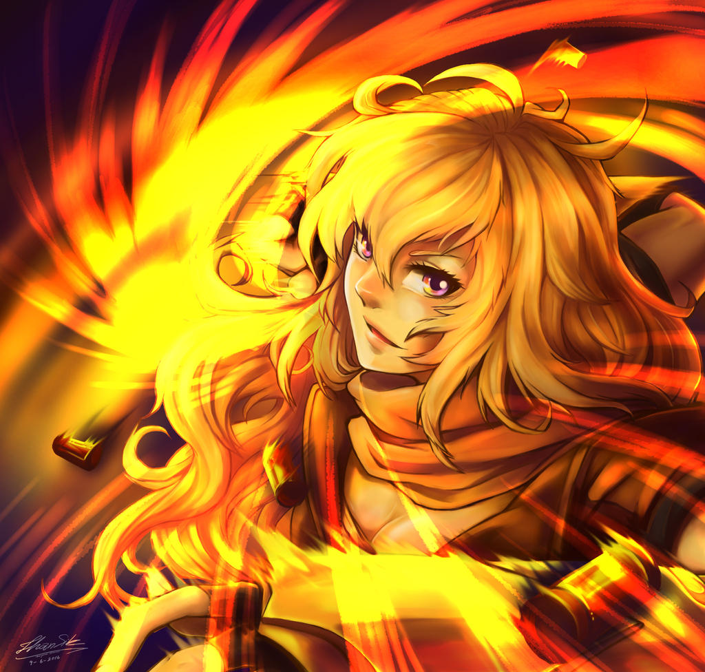 Yang Xiao Long Wallpaper: Yang Xiao Long RWBY By Moninwza007 On DeviantArt