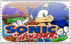sonic the hedgehog stamp by gamerXgirl