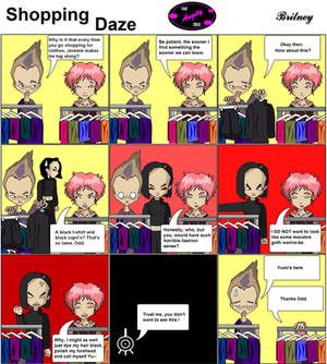 Code Lyoko: Shopping Daze