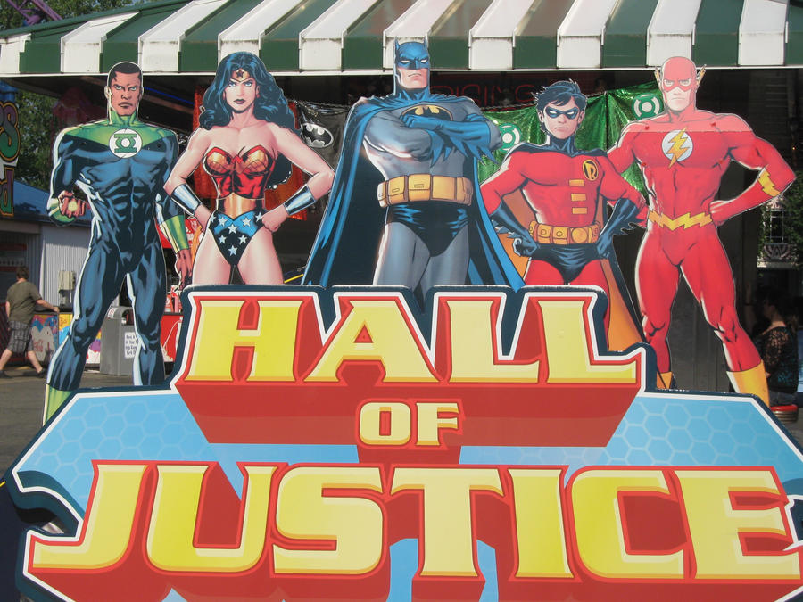 Hall of Justice :cut out: by AskSuperman