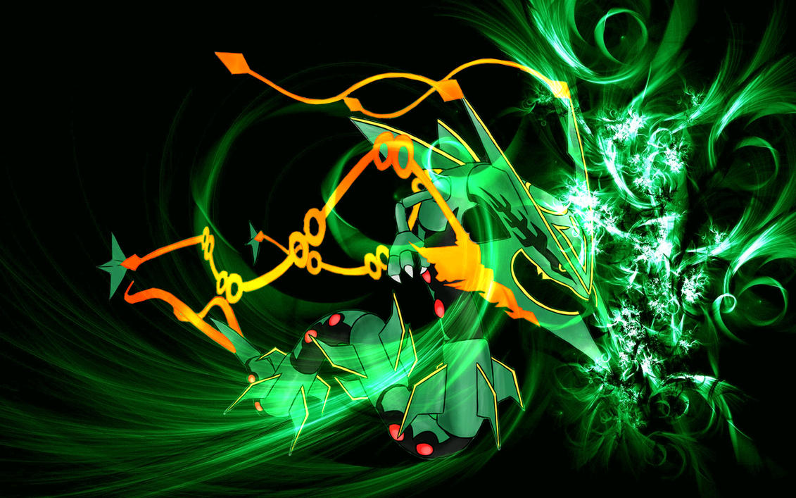 mega rayquaza wallpaper