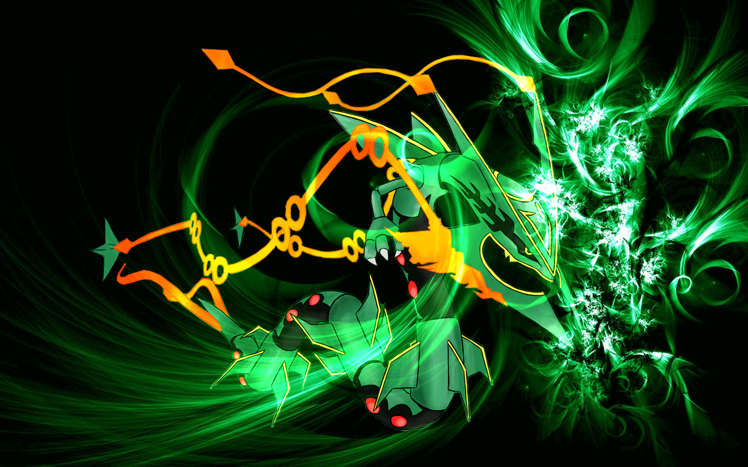 emerald rayquaza wallpapers - photo #45