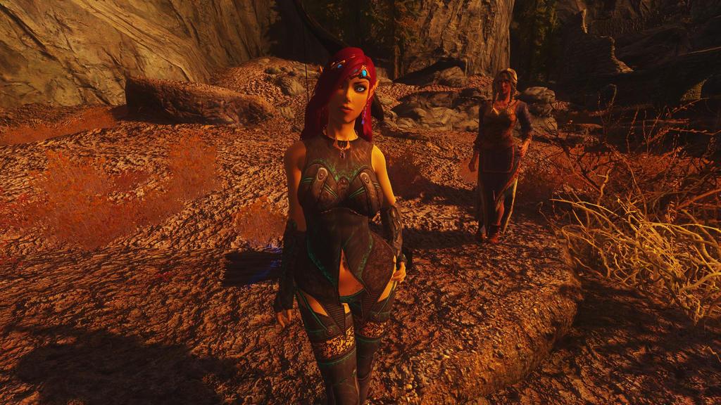 Skyrim: Shae Tir'Linar 1 by DeathianDragonFear
