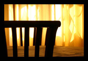 Living Room Sunset