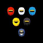 Helmets - Kakuranger
