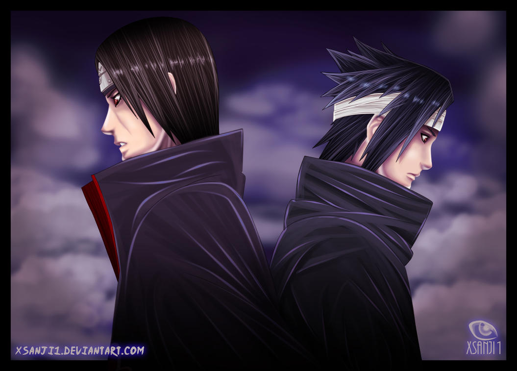 Sasuke Vs. Itachi By Yahik0 On DeviantArt