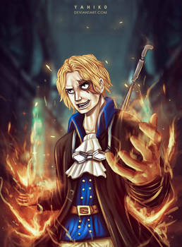 Sabo on Fire