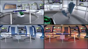Work in Progress - Star Trek IV style bridge