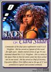 Sladen Stories Card 0338 Clara Sladen