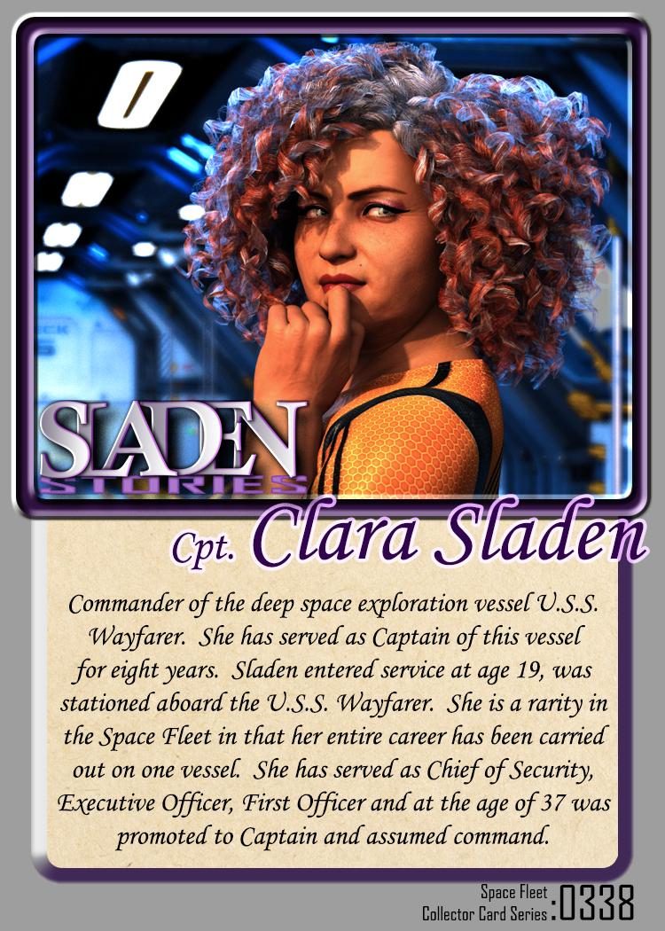 Sladen Stories Card 0338 Clara Sladen by JamesJAB
