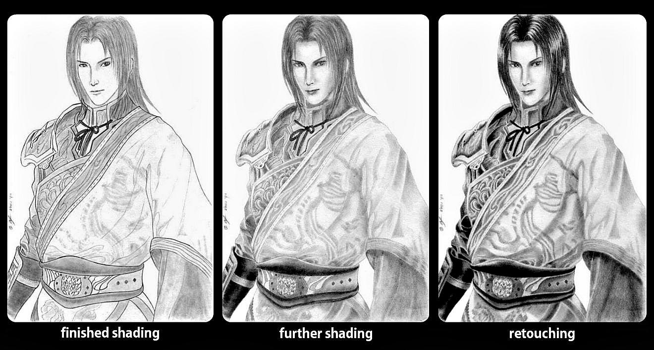 Zhou Yu - reshading by blekimaru