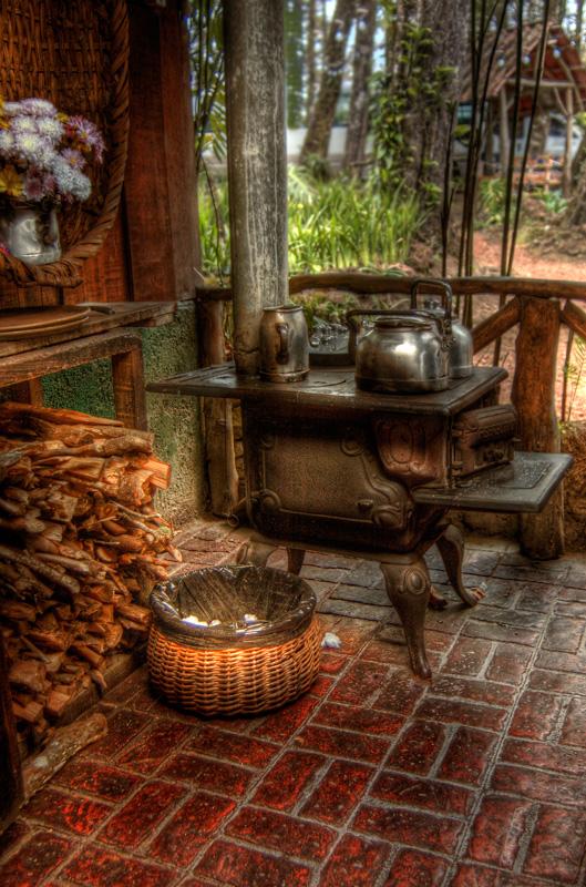 Old Iron Stove By Otas32 On Deviantart