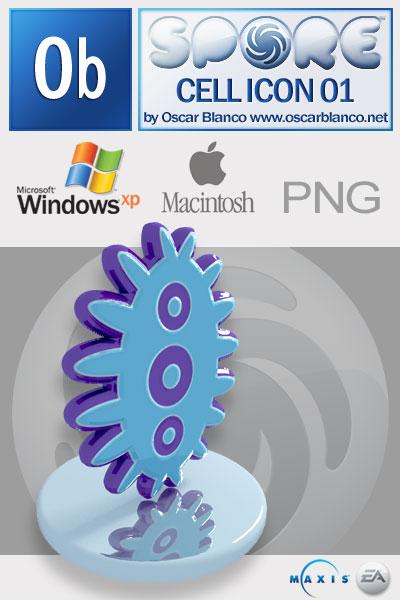 Spore Game Celular Icon 01 by otas32