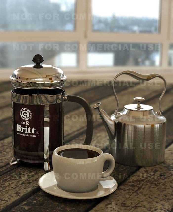najromanticnija soljica za kafu...caj - Page 4 3D_French_Press_and_coffee_02_by_otas32