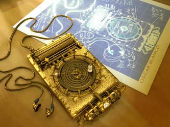 Steampunk iPod by otas32