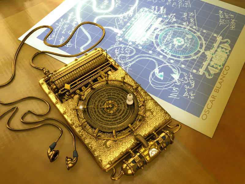Steampunk iPod by otas32