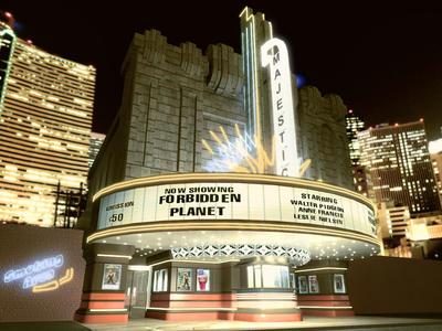 Vintage Movie Theater 100