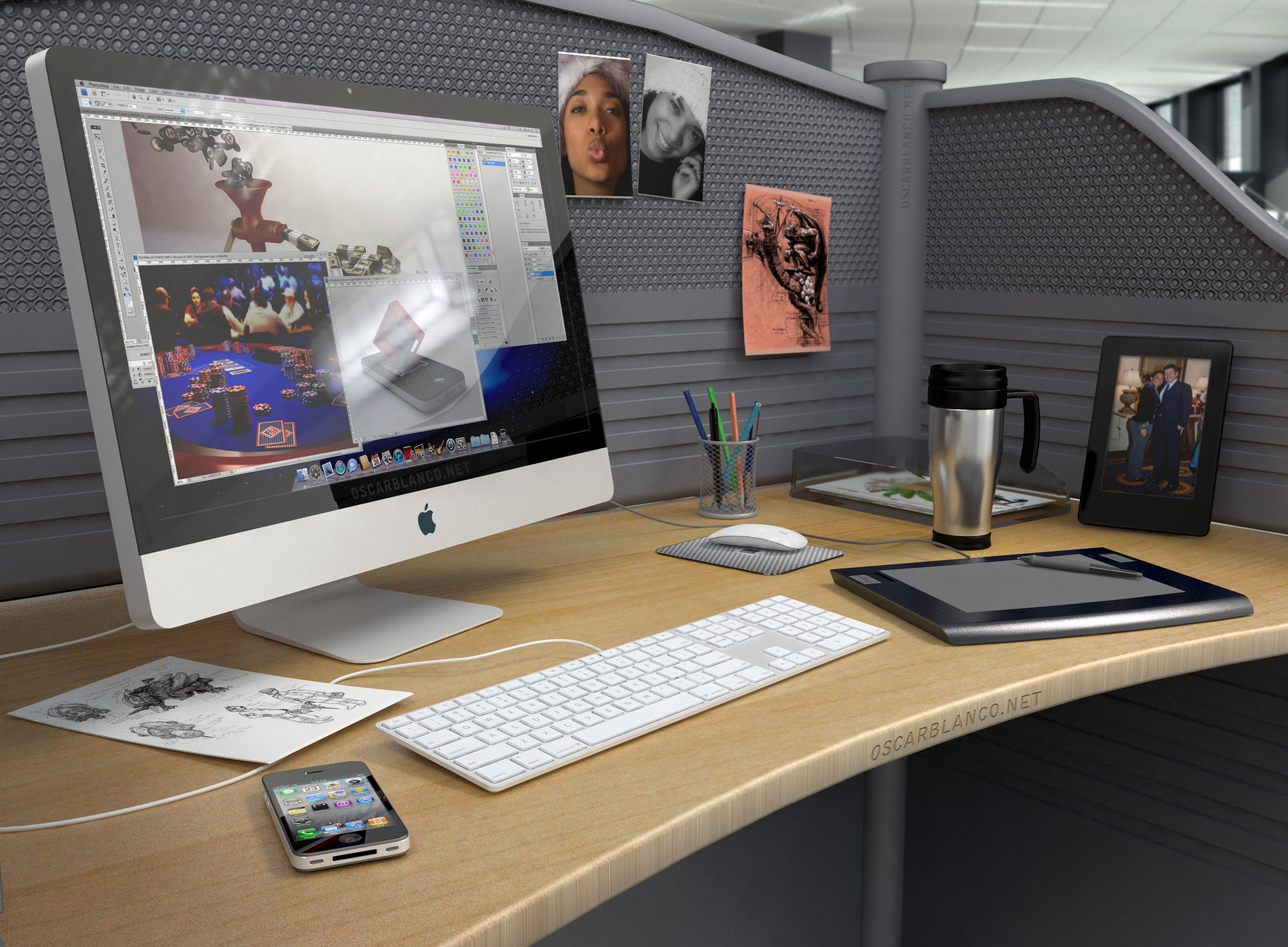The Design Workstation by otas32