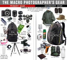 Macro Photographer's Gear List