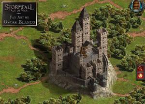 A Stormfall Fortress fan art