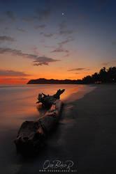 Sunset at Playa Samara.