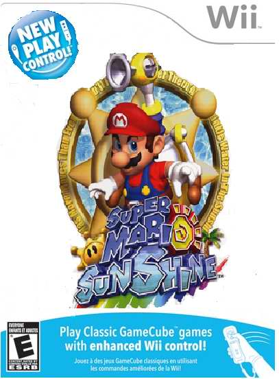 Super Mario Sunshine Wii by specialawesome on DeviantArt