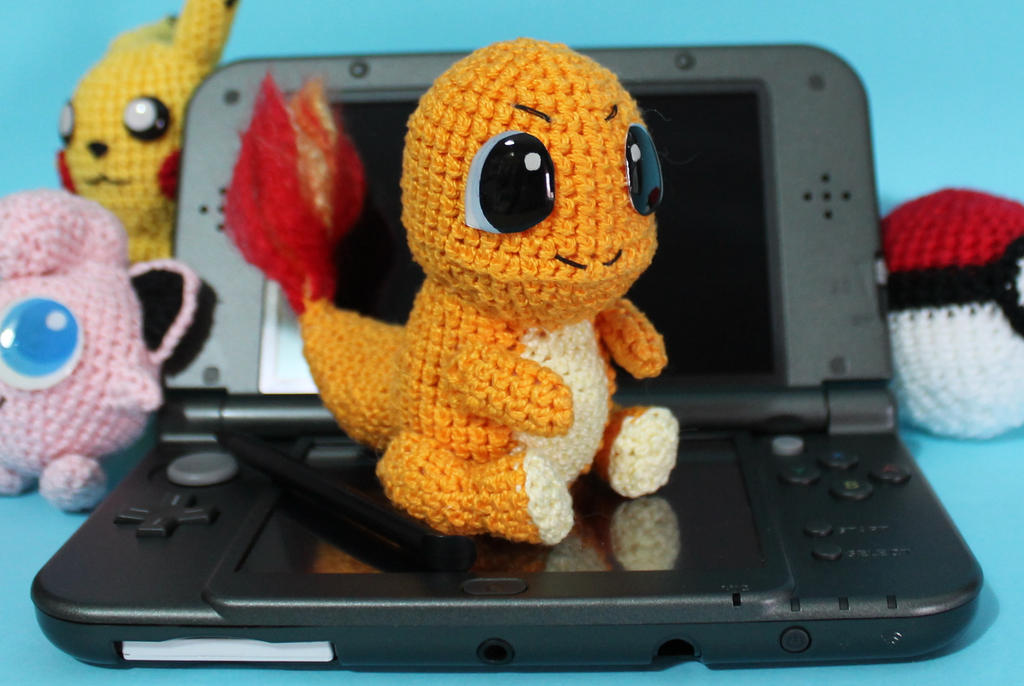 Amigurumi Pokemon Instructions : Crochet Pokemon Charmander Amigurumi by MaryjoeCraft on ...