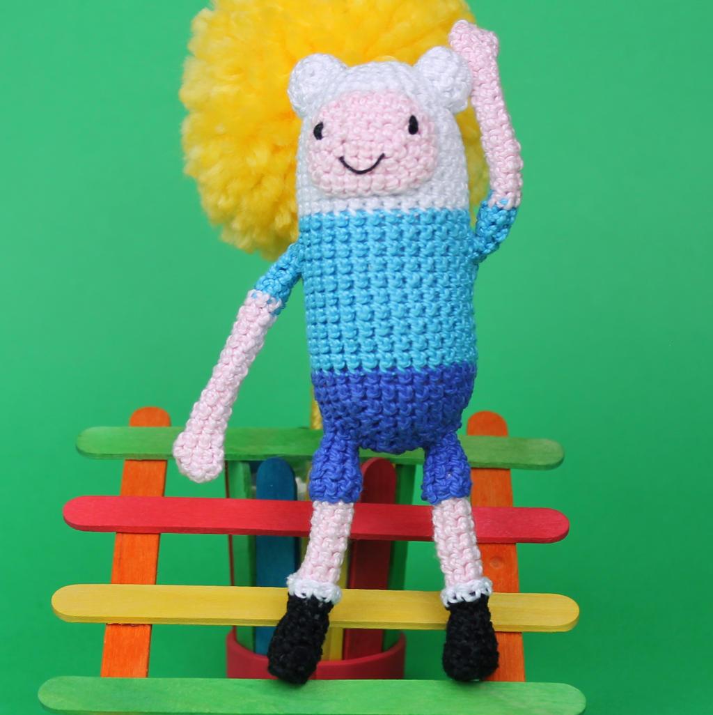 Amigurumi Love Birds Pattern : Crochet Finn the Human Amigurumi, Adventure Time by ...