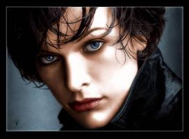 Milla Jovovich by aegina