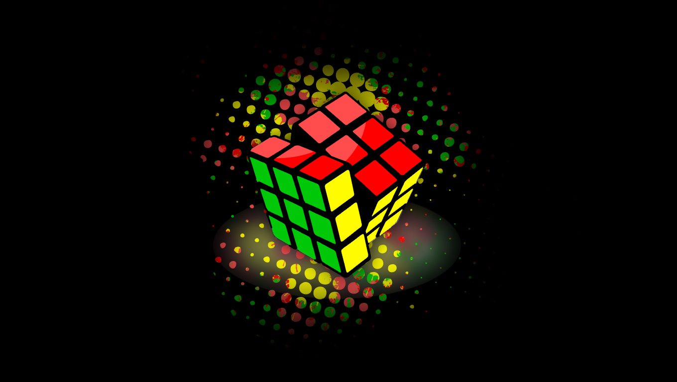 rubik s cube wallpaper by xky03 customization wallpaper still life ...: xky03.deviantart.com/art/Rubik-s-Cube-Wallpaper-106215968