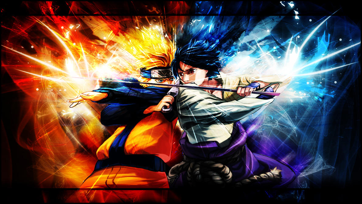 Sasuke Vs Naruto Wallpaper
