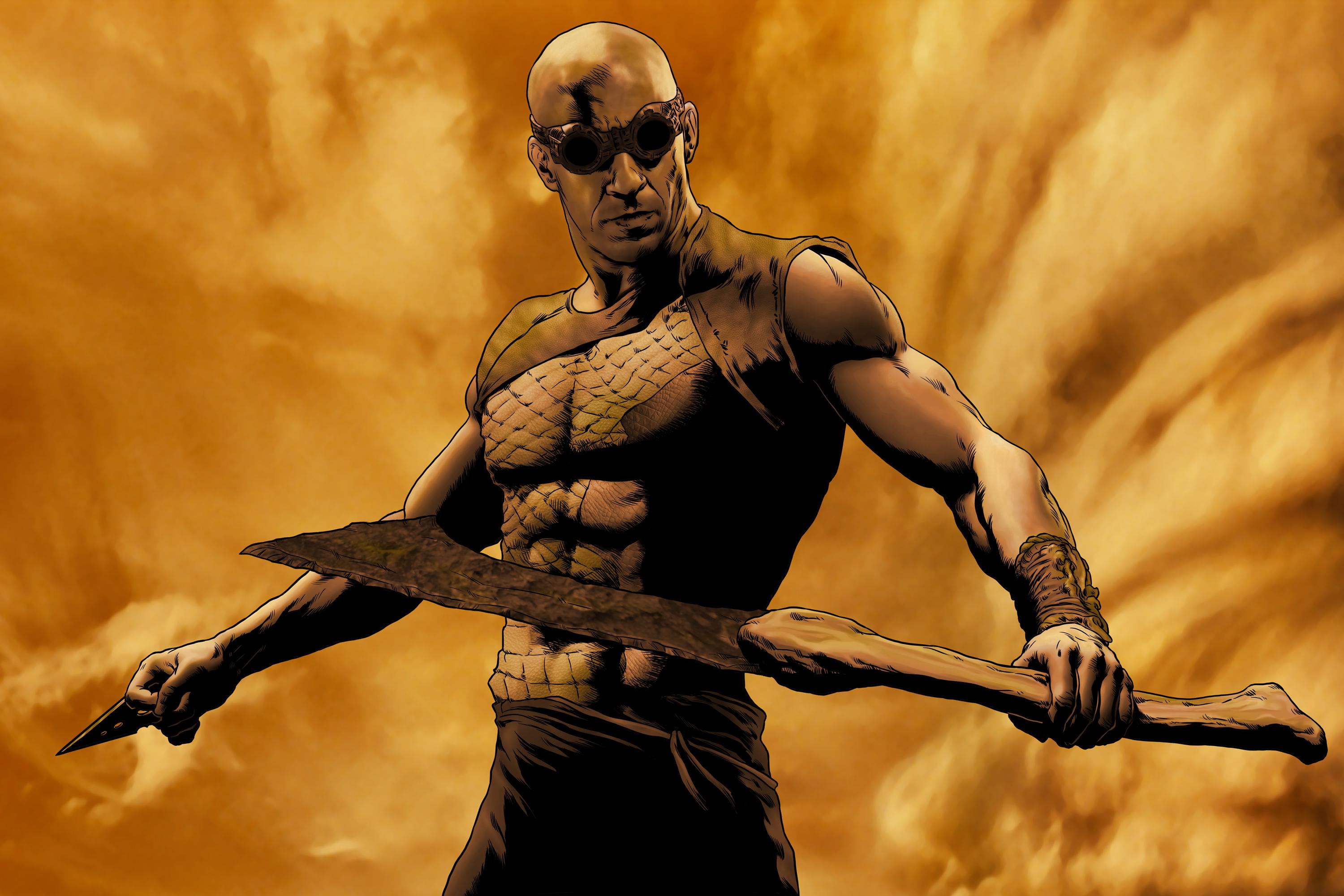 Riddick Entry by haydn104 on DeviantArt