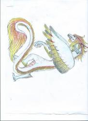 This random dragon by craftydrake