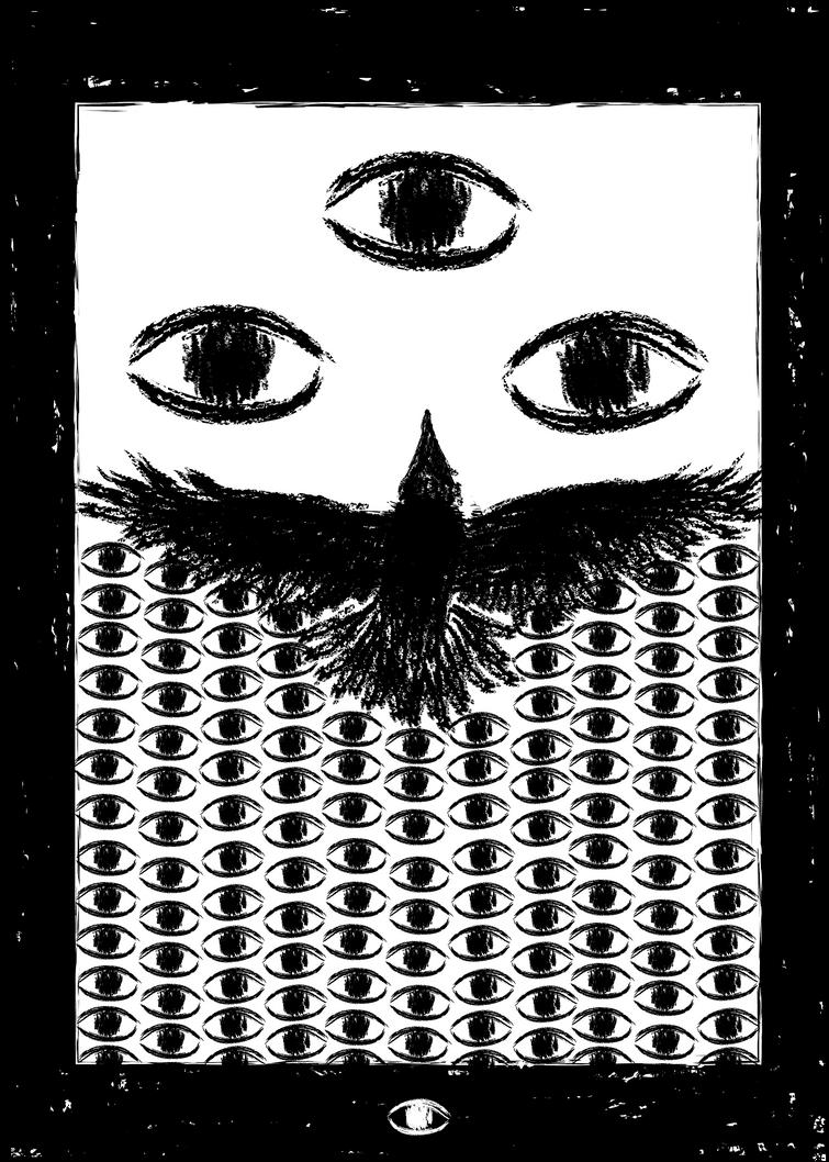 O Corvo com Mil Olhos e Um by PadeiroSteampunk