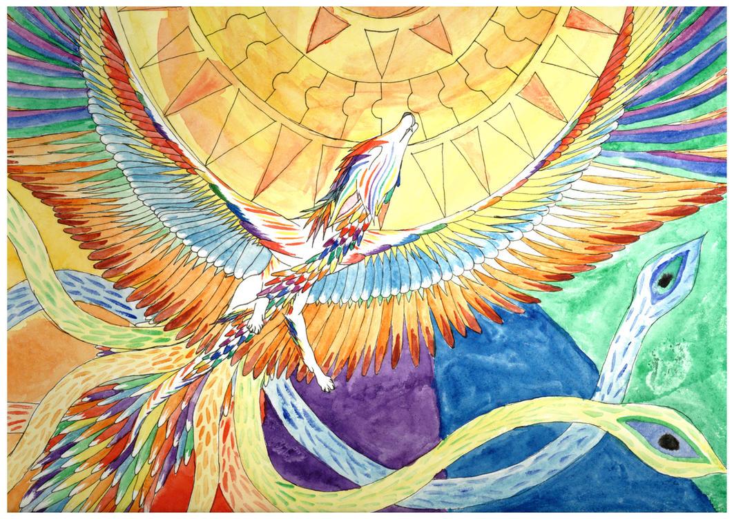 The Simurgh by Fluffysminion