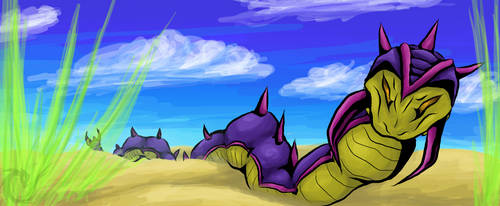 Not quite dune by Fluffysminion