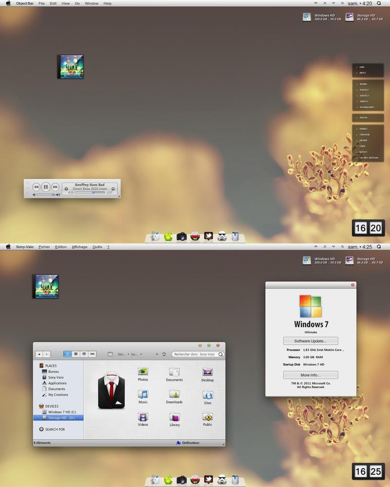 .:+I Love My Desktop 17+:. by Graphik-Em