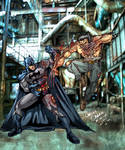 batman vs wolverine color
