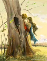 Guinevere and... by Tekamza