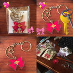 more Sailor Moon keychains!