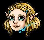 Chibi Princesses - BotW Zelda
