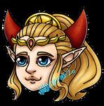 Chibi Princesses - Four Swords Zelda by VialofFire