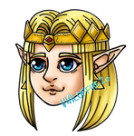 Chibi Princesses - A Link To The Past Zelda by VialofFire