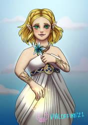 Zelda 35th Anniversary by VialofFire